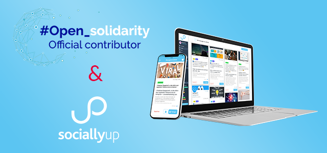 Open Solidarity by OVH : SociallyUp dans le dispositif